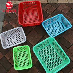 PP Food Grade Plastic Material Mesh Style Nestable Plastic Crates For Fruits And Vegetable