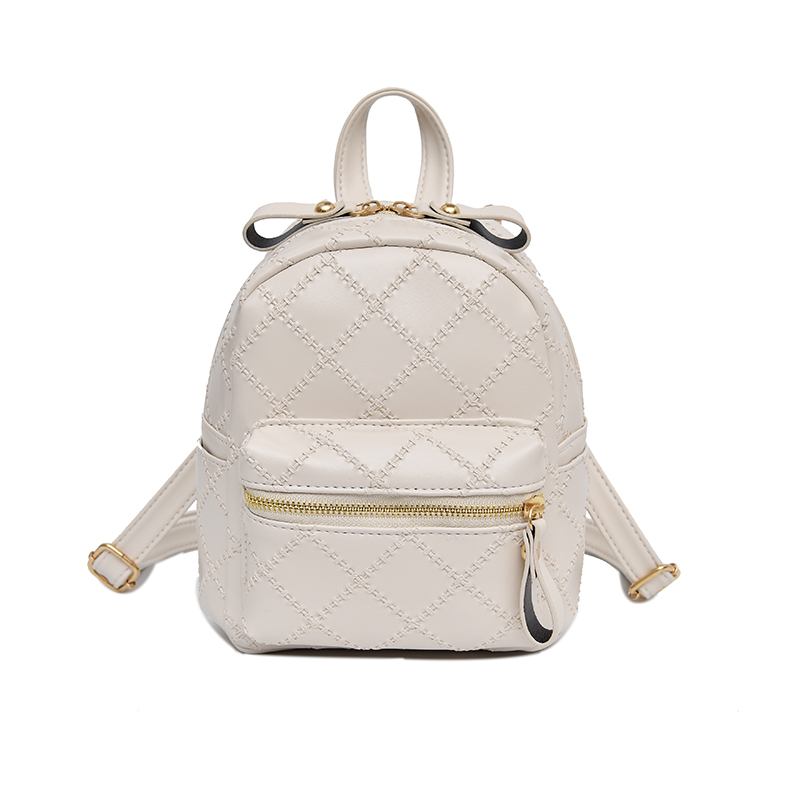 2018 pu leather backpack <strong>school</strong> girls geometric bag mini backpack