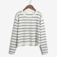 Striped Knitting Wear