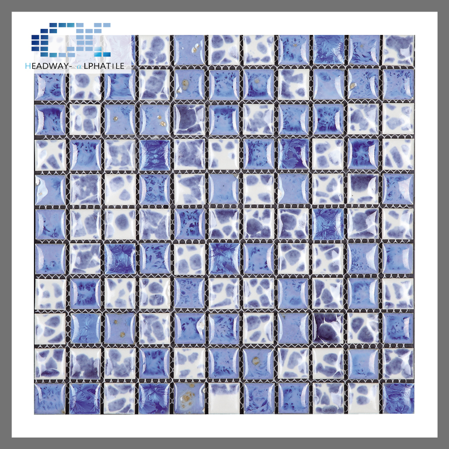 Factory supplies glazed ceramic wall tiles pattern mosaic bathroom tiles