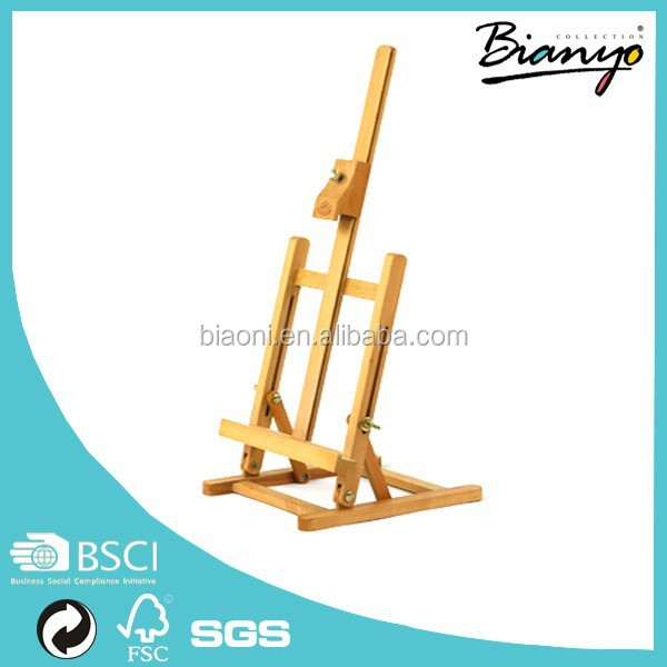 Free Sample Hot Sale Beech Painting Easel Newest Design Wooden Easel For Artists
