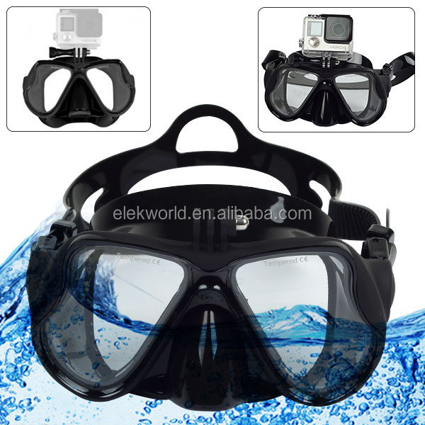 Diving Equipment Diving Mask for Go Pro Heros 4/3+/3/2/1waterproof gopros dome edition