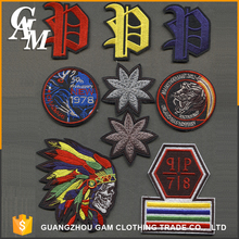 Custom Name Logo Self Adhesive Fabric Patches for Clothing