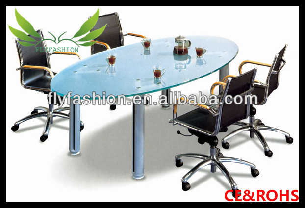 Hot Sale Oval Glass Conference Table And Chairs For Sale Buy Hot - Oval glass conference table