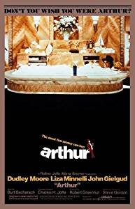 Arthur Movie Poster Dudley Moore 24x36