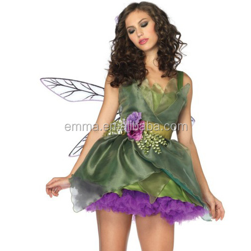 adult handmade costume fairy wings woodland fairy costume CW-1986
