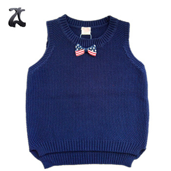ffda7379a Kids Knit Vest Pattern Child Sleeveless Sweater For Boys 2018 - Buy ...