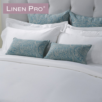 High Quality Embroidery Luxury Hotel Embroidered White Bed Sheet Set 250 Cm,hotel Twin  Bed Fitted Sheets