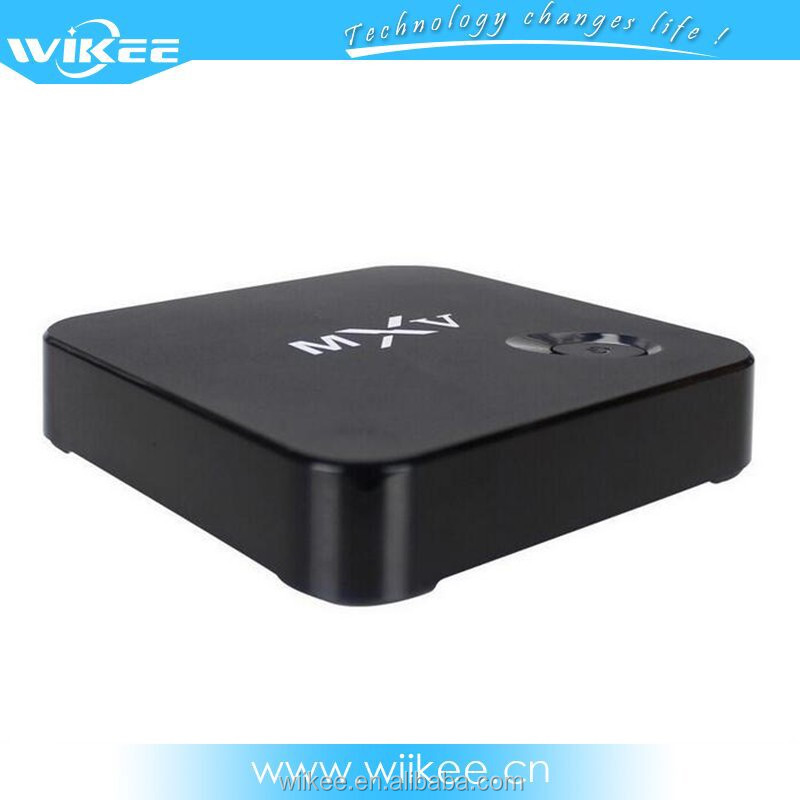 MXV Android 4.4 Amlogic S805 4K quad core IPTV BOX for USA Live Channels Video