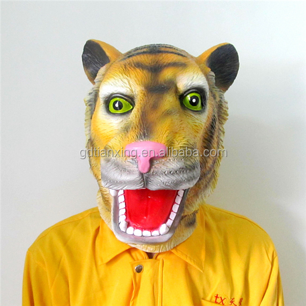 Full Head Latex Animal Masks Halloween Cosplay Parties carnival treat or studio mask