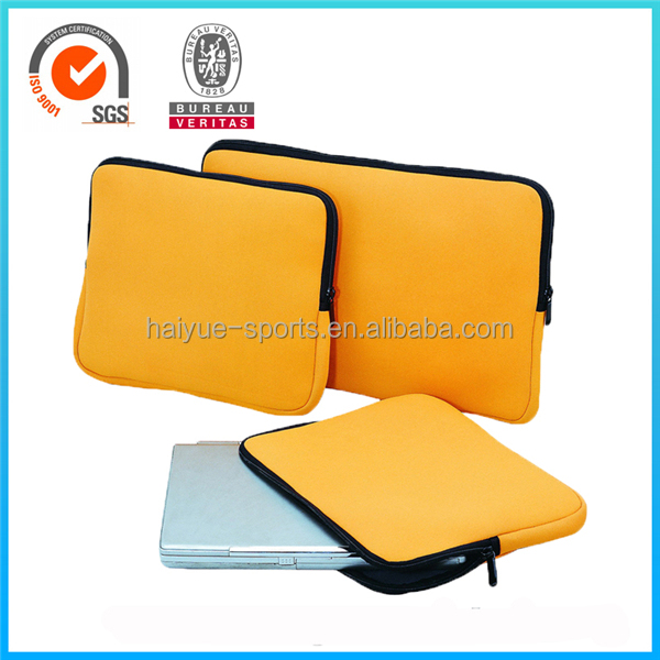 Promotion neoprene tablet computer neoprene laptop sleeve case