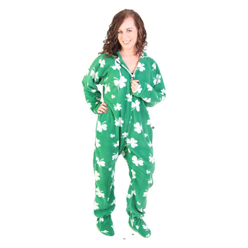 Shamrock Footed Fashion Cheap Wholesale Women Onesie Pajama - Buy ... d45c28724