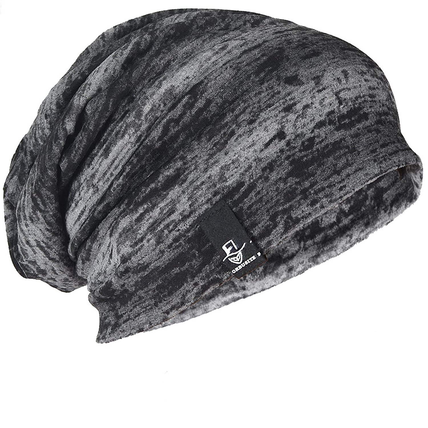 308224a4810b2 Get Quotations · FORBUSITE Mens Slouchy Oversized Thin Beanie Cap for Summer  B081