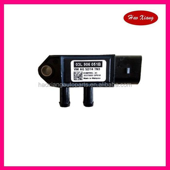Diesel Exhaust Pressure Difference Sensor 03l906051b - Buy  03l906051b,Pressure Sensor,Best Pressure Sensor Product on Alibaba com