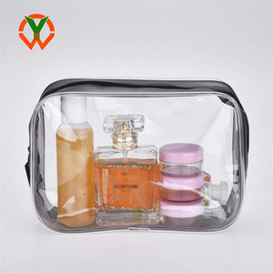 2019 New Toiletry Transparent Small Custom Clear Cosmetic Bag