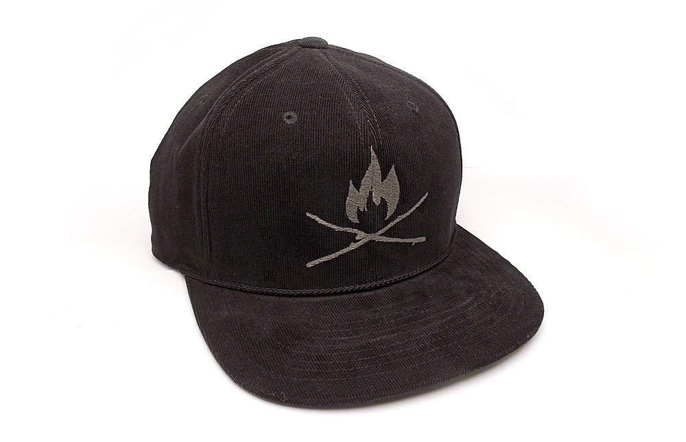 4e769436d93 Corduroy Hat - Sticks   Fire - Men s Unisex Corduroy Hat - Adjustable Back