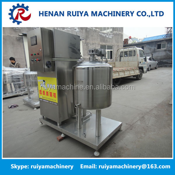 Mini type Yoghourt and Milk pasteurizerd production line, Best Milk pasteurizer machine price for sale
