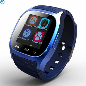 2G GSM SIM TF Card Camera Smartwatch m26 bluetooth ultra slim android smart watch phone for men