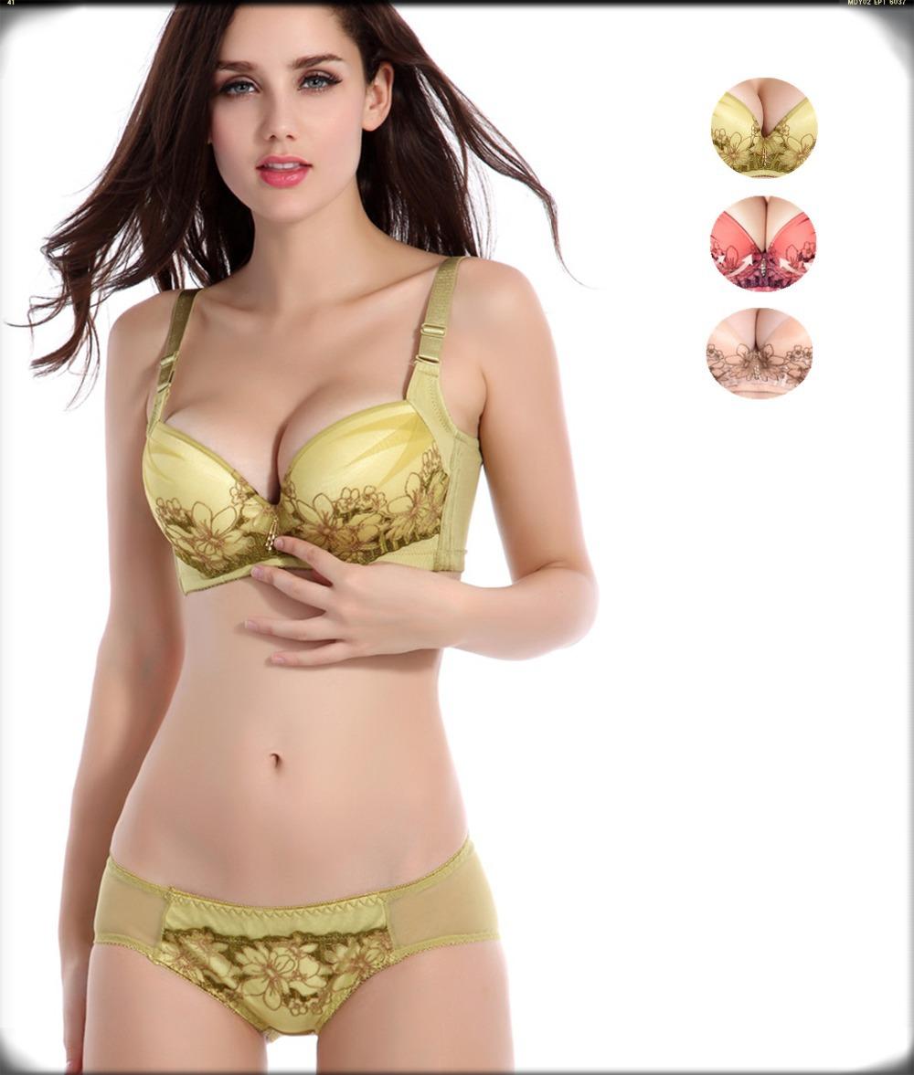 2b46c81bca Get Quotations · Besar ladies bra briefs set fashion high quality brand bras  sexy lace underwear panty push up