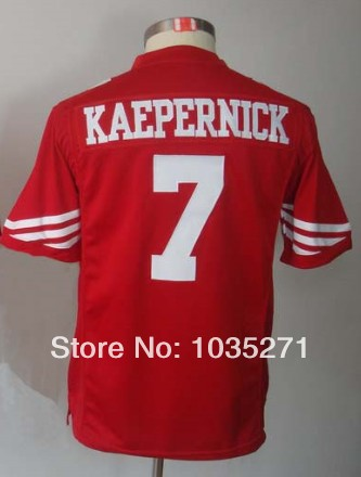 0410c20e8 Cheap Authentic Jersey Sport Jersey #7 Colin Kaepernick Kids/Youth Jersey,Stitched  Logo
