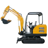 360 degree rotation mini excavator 2 ton hydraulic excavator for sale