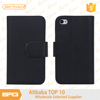 Wallet flip leather cover for apple iphone 4 4s