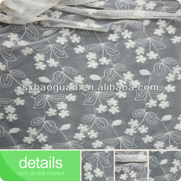 2014 most popular cotton lace embroidery lace