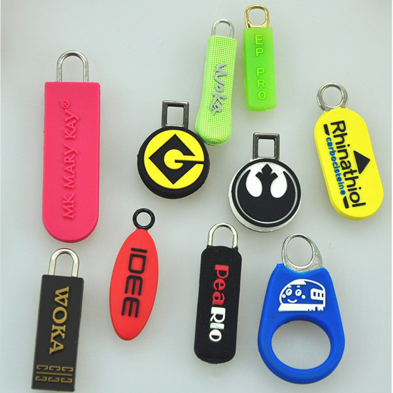 Factory Direct Silicone Rubber Zipper Pull Personalized Zipper Pulls Personalized Zipper Pulls Kids Buy Zipper Pull Personalized Zipper