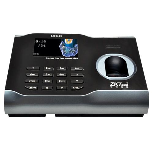 U160 3.0 дюймов цветной экран ZK программное обеспечение отпечатков пальцев посещаемость времени с tcp / ip связи USB офис посещаемости времени часы