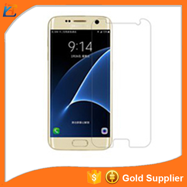 Mobile phone screen guard for samsung galaxy j5 / galaxy c7 tempered glass screen protector