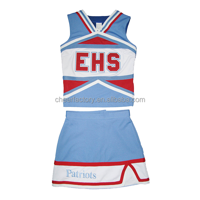 China manufacturer most Popular custom cheap cheerleading uniforms