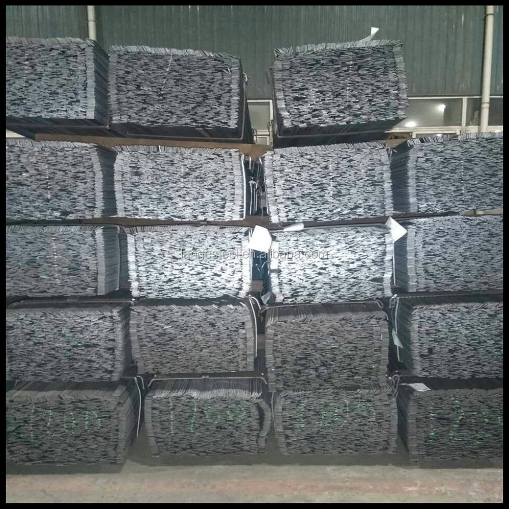 grating serrated tooth shape steel flat bar