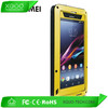 luxury metal material for waterproof case sony xperia z1