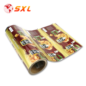 PET PE Laminating OEM Printed Food Plastic Packaging Film for Pancake