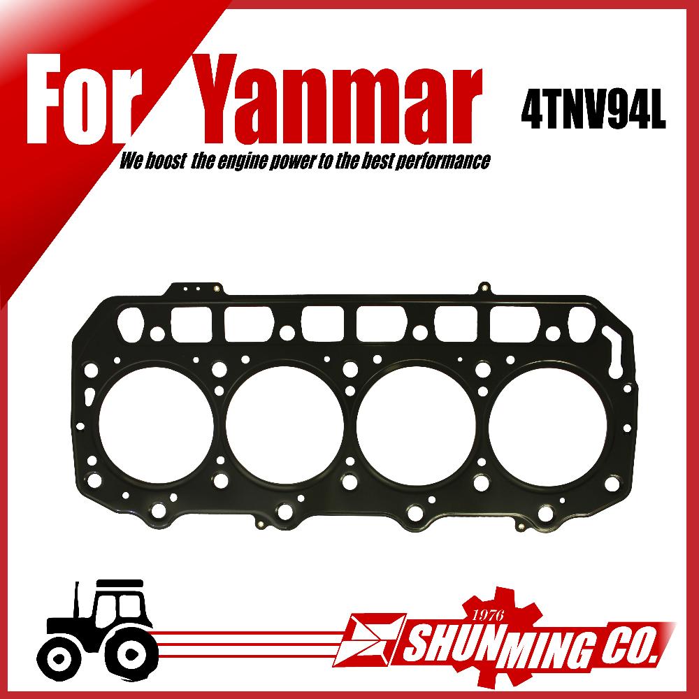4tnv94l Steel Head Gasket For Yanmar Diesel Excavator Engine Replacement  Parts - Buy 4tnv94l Head Gasket,4tnv94l Steel Replacement Parts,4tnv94l