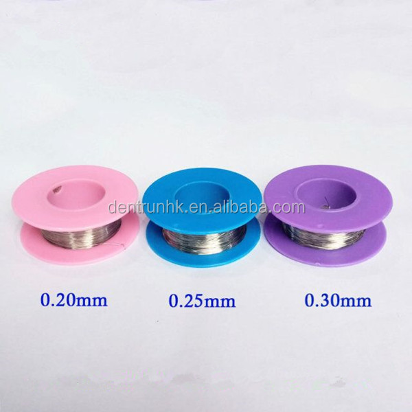 Dental Supply Orthodontic Stainless Steel Ligature Wires