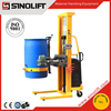 SINOLIFT YL520-1 520kg Capacity Hand Pulled Electric Lifting Drum Dumper