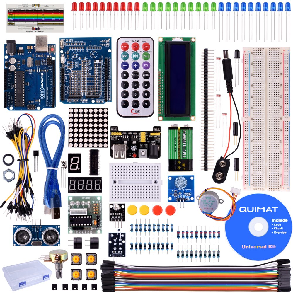 Cheap Project Breadboard Find Deals On Line At Adhesive Electronic Circuit Board Solderless Kit For Sale Get Quotations Quimat Uno Super Starter Kits With Tutorials 5v Relay R3