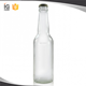 330 ml Clear Ice Glass Beer Bottle with Crown Caps