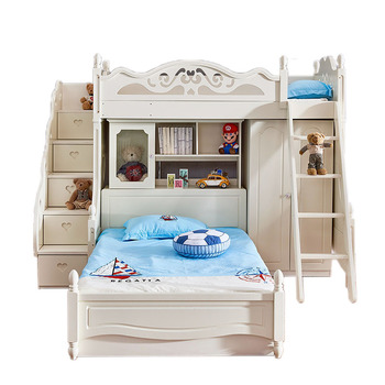 Kids Bedroom Furniture Set Children Bunk Bed With Study Desk Product On Alibaba
