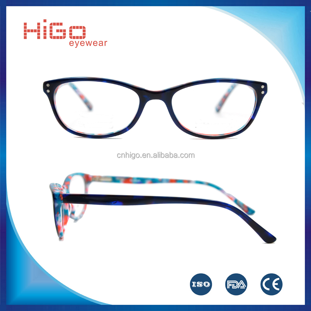 High quality popular acetate kids eyeglasses frame OEM manufacture in China