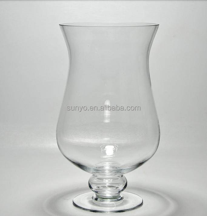 Leadfree Crystal High Quality Popular Model Brandy Glass Vase Clear