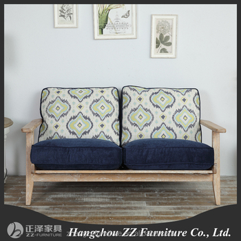 French Style Furniture Low Price Sofa Set Wooden Sofa