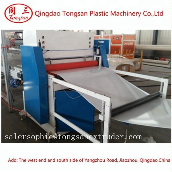 1-6MM 1600mm Plastic ABS sheet extrusion line/ABS plate production line
