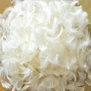 Wholesale 2-4cm Washed White Duck Down feather Goose Down Feather