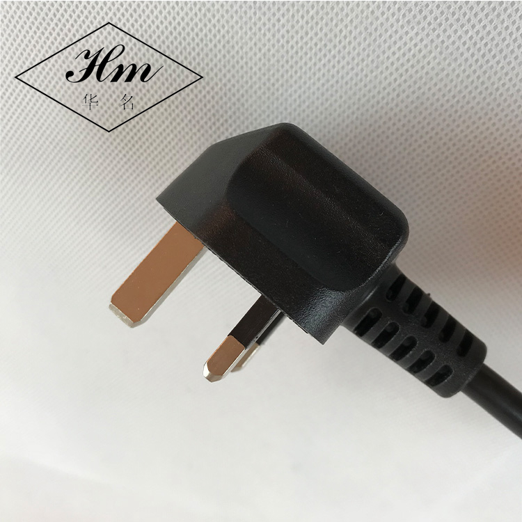 Perfect 3pin europe waterproof power cord with molded fuse 3A 5A 10A 13A plug