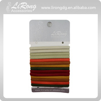 Multicolor Elastic Ponytailer Hair Band