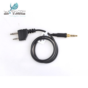 Z-TAC ZFBI Style headset plug for Z129 Headset to Radio Z132