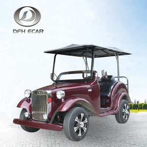 4 seat new design electric car longer life sightseeing cart high quality vehicles golf cart made in China