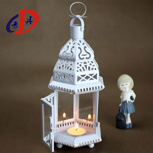 DH-L018 holiday decorative iron art custom lantern